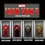 Iron Marvel Y1890 Samsung Galaxy J7 Pro 2017 marvel iron 3 armor power bank 5000mah limited edition