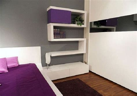 modern bedroom design with unusual wall shelves digsdigs 22 best images about main bedroom on pinterest red
