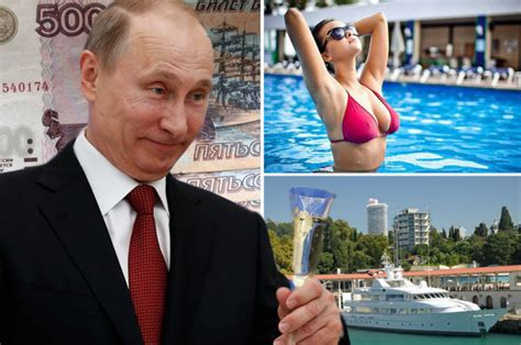vladimir putin s wealth russian president s lifestyle as the richest in the world daily
