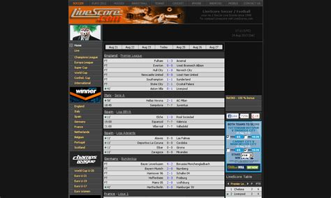 curtis driverlayer search engine livescore