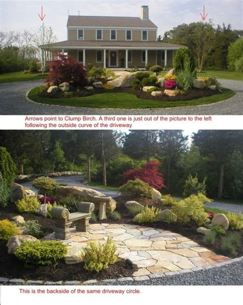 Circular Driveway Landscaping Landscape Design Ideas For C And D Landscaping