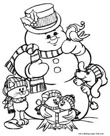 frosty snowman coloring christmas coloring pages holiday amp seasonal coloring pages
