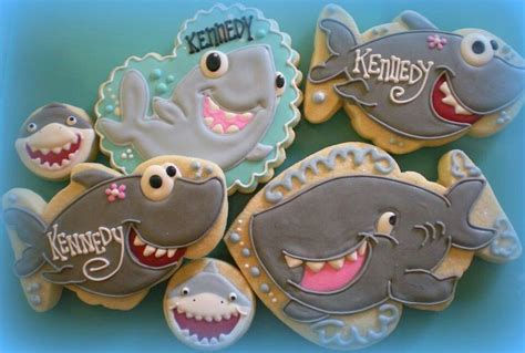 baby shark cookies 136 best gourmet cookies by sugar images on pinterest