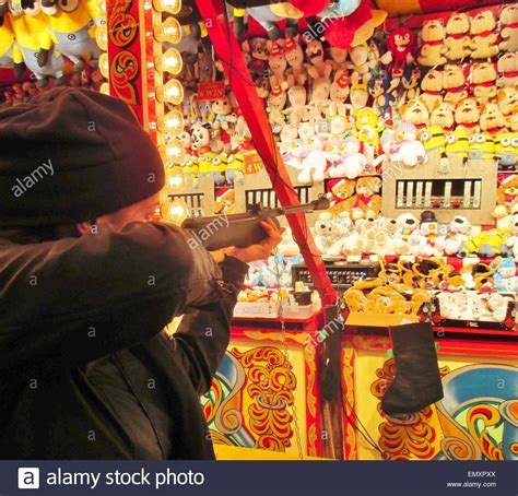 Duck Shoot Brings The Experience Of The Carnival To Your Home by Shooting Range Gallery At Funfair With Gun To Win Soft