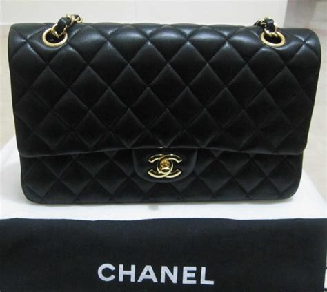 Chanel Sale At Yooxcom by Authentic Chanel Classic Flap Bag 2 55 Medium For