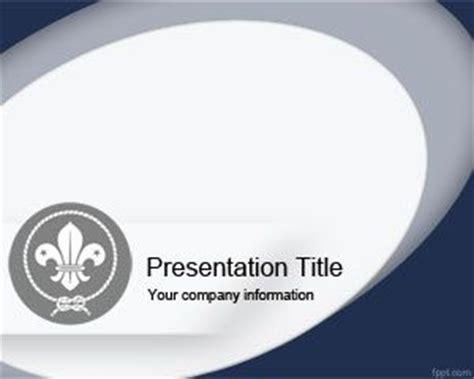 Plantilla Powerpoint De Boy Scout Plantillas Powerpoint Gratis Cub Scout Powerpoint Template