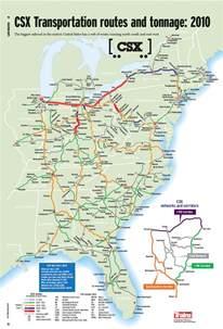 csx railroad map www pixshark images galleries