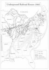 underground to canada map the underground railroad