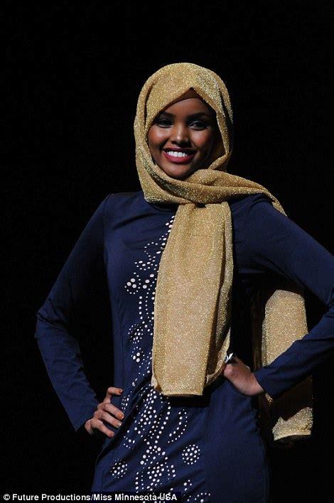 Muslim Wear Miss U Minoru somali american becomes the miss usa hopeful to