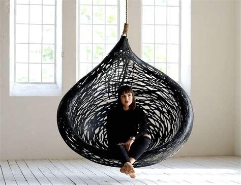 hanging basket chair ibis volcanic basalt hanging basket chair 187 gadget flow