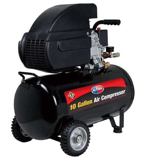 10 cfm portable air compressor all power all power 10 gallon portable air compressor