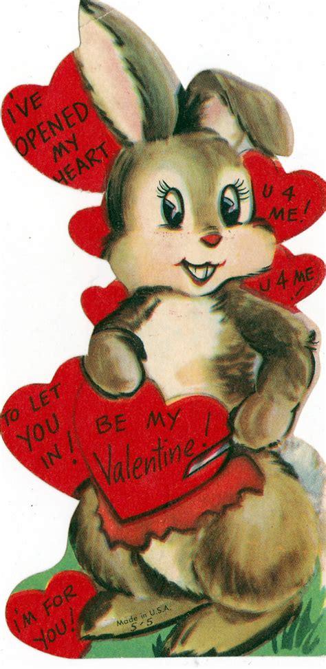 valentines vintage 160 best images about vintage cards rabbits
