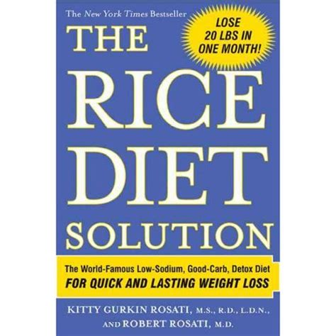 Brown Rice Detox Weight Loss by The Rice Diet Solution The World Low Sodium