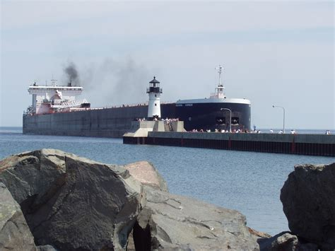 boat crash duluth the indiana harbor arrives in duluth moving to freedom org