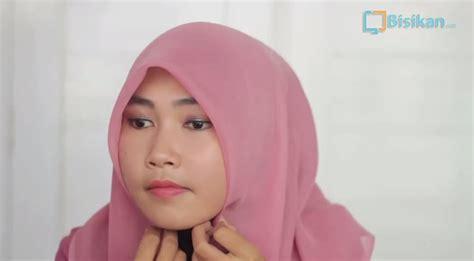 tutorial jilbab pashmina ceruti tutorial hijab pashmina ceruti pesta