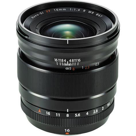 fujifilm xf 16mm f 1 4 r wr lens 16463670 b h photo