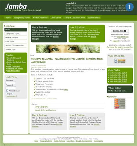 jooma templates tutorials resources and tips for joomla template