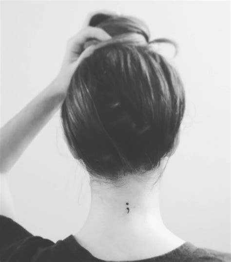 semicolon tattoo behind ear 26 best semicolon images on semicolon