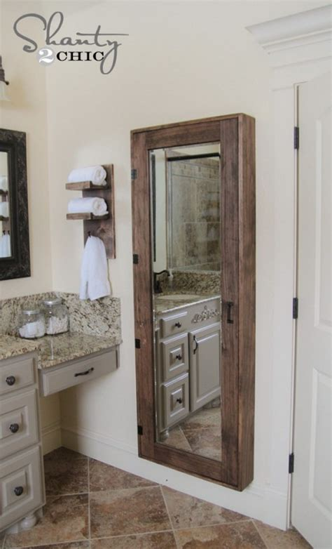 bathroom mirror with hidden storage 15 hidden storage spaces you ll wish you had at home the