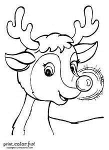 Rudolph The Nosed Reindeer Template by Rudolph Template Printable New Calendar Template Site
