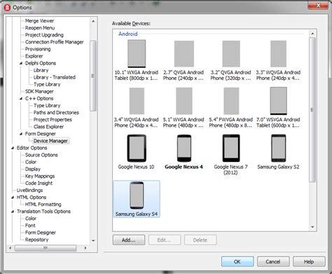 tutorial delphi android membuat aplikasi android dengan delphi xe 5 bagian 1