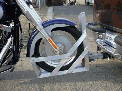 How Motorcycle Towing Trailers Work