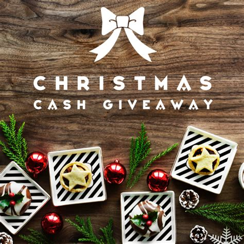 Christmas Cash Giveaway - christmas cash giveaway beautiful touches