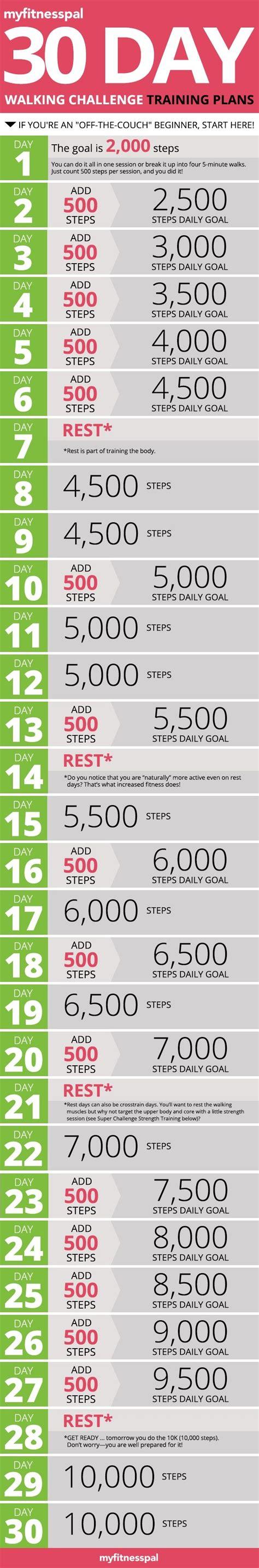 walking challenge the 30 day walking challenge myfitnesspal