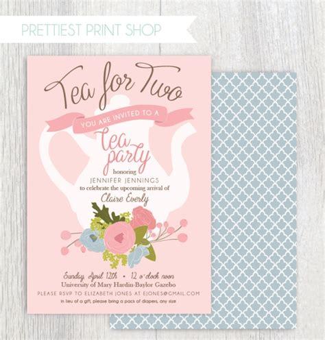 18 Tea Party Invitations Printable Psd Ai Vector Eps Design Trends Premium Psd Vector Tea Baby Shower Invitation Templates