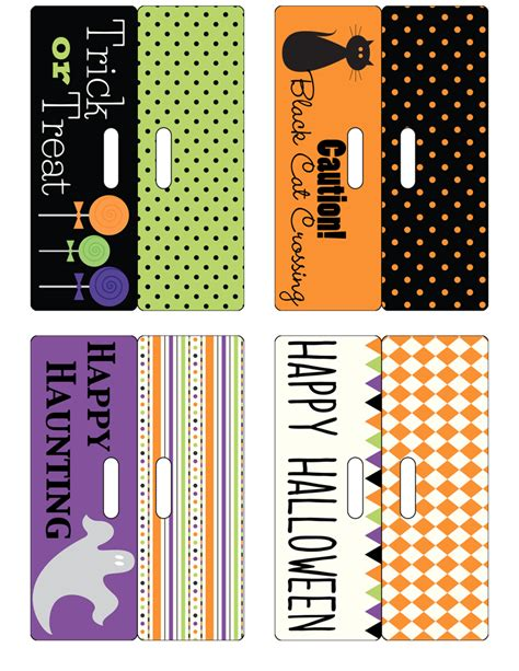 treat label template bag toppers free printable designer blogs