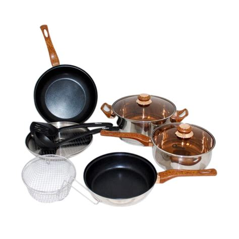 jual oxone ox 911 basic cookware kitchen set alat masak