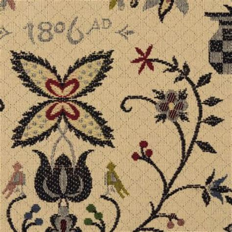 Colonial Upholstery Fabric by Heritage Fabrics Colonial Decor