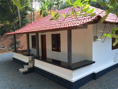 home design below 10 lakh 550 sq ft low budget kerala traditional home free plan