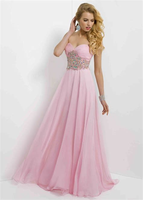 long strapless ruched rhinestone beaded prom