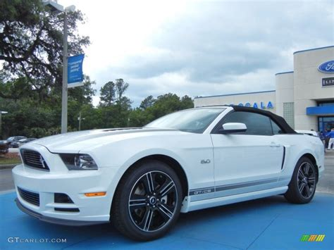 2014 california special mustang 2014 oxford white ford mustang gt cs california special