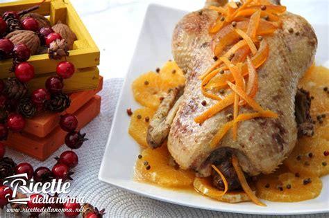 cucinare l anatra all arancia anatra all arancia ricette della nonna