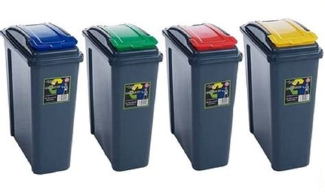 L Recycling by 25l Plastic Recycling Bin 25 Liter Waste Rubbish Recycle
