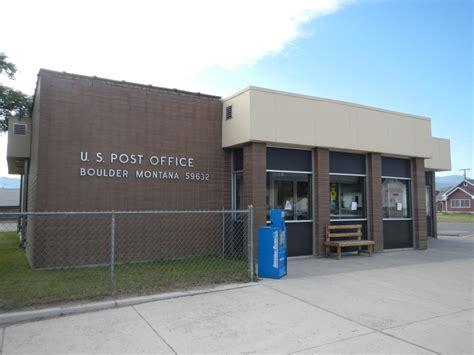 Post Office Boulder boulder montana post office post office freak