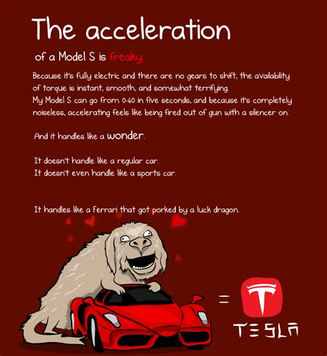 The Oatmeal Tesla Car What It S Like To Own A Tesla Model S By The Oatmeal