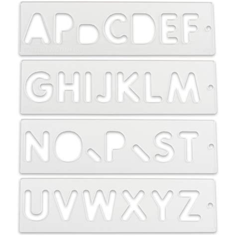 router lettering template sets trend letter number templates router jigs templates