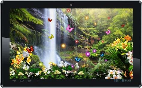 jungle waterfall live wallpaper apk live wallpaper apk