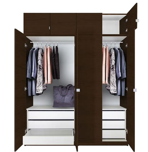 Hanging Wall Dividers by Alta Tall Wardrobe Closet Package 6 Drawer Wardrobe