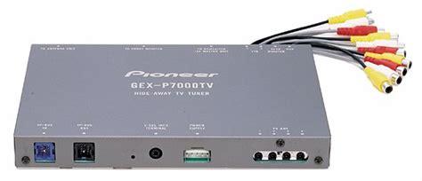 Tv Tuner Gex 2850dvb2 gex p7000tv pioneer electronics usa