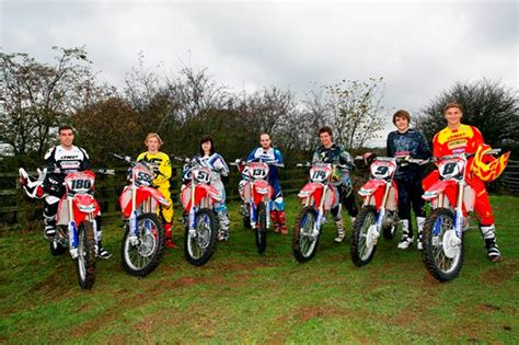 motocross bikes for sale scotland dave thorpe honda road experience heads to scotland mcn
