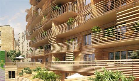Chalet Style immeuble bois batiment collectif mpc normandie