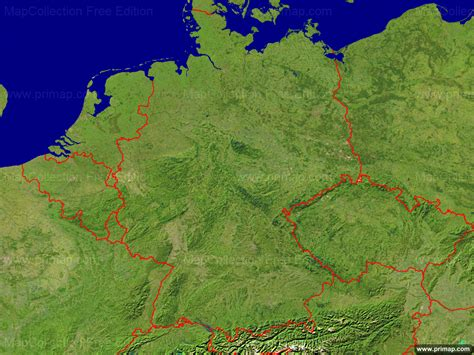 germany satellite map primap national maps