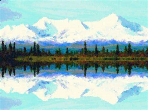 digital art photo manipulation photoshopped mountains