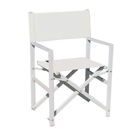 sedie regista alluminio sedia regista alluminio giardino arredo giardino italia