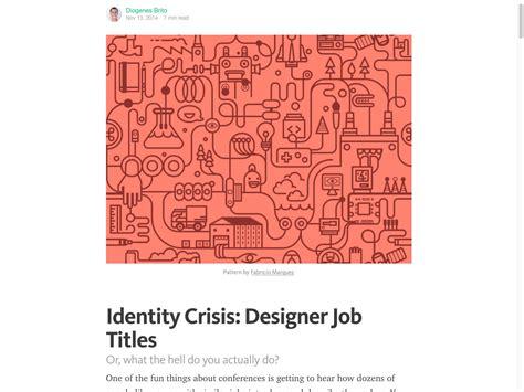 google design job titles popular design news of the week november 2 2015