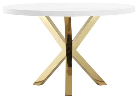 white gold dining table gold collin dining table white gold combo